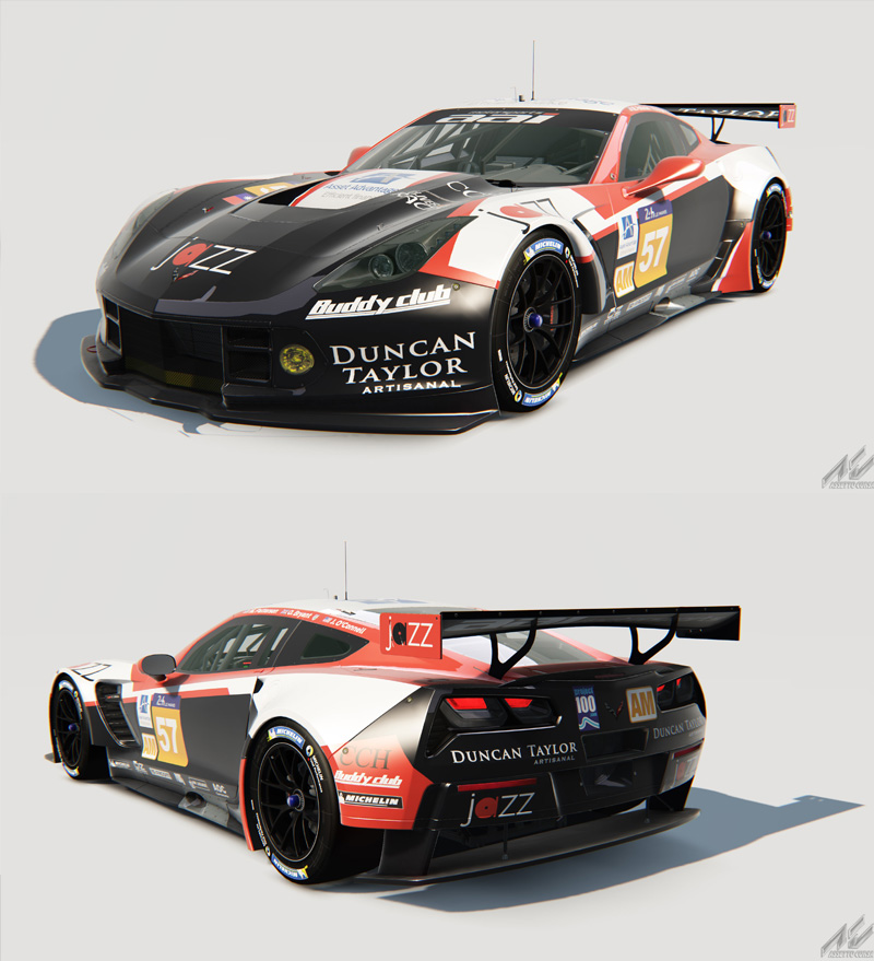 Team AAI Unveil The Livery Of Their 2016 Le Mans 24 Hours